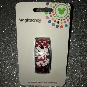 New Disney Parks Minnie Mouse magic band